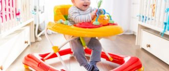выбираем самые хорошие ходунки для ребенка