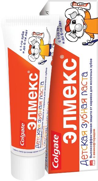 Зубная паста Elmex для детей от 1 до 6 лет фото