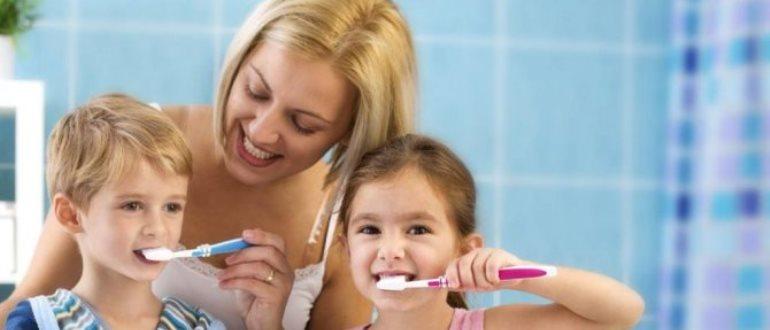 Обзор лучших зубных паст для детей