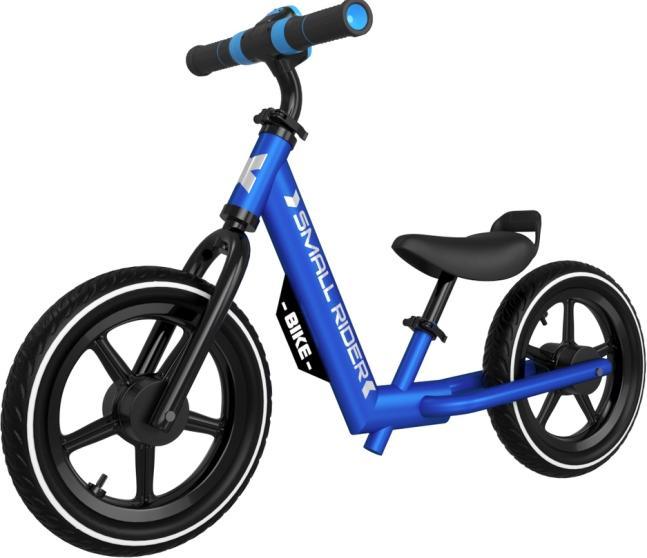 Беговел Small Rider Roadster-X Plus с ревом мотора, синий фото