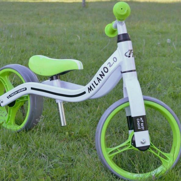 Беговел TechTeam Milano 2.0, зеленый фото