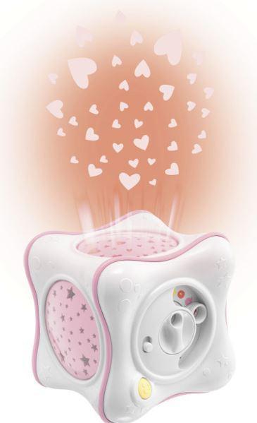 Ночник-проектор Chicco Радуга (розовый) фото
