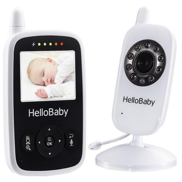 Видеоняня Hello Baby HB24 белый/черный фото