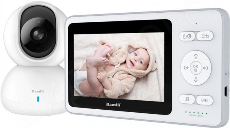 Видеоняня Ramili Baby RV500 белый фото