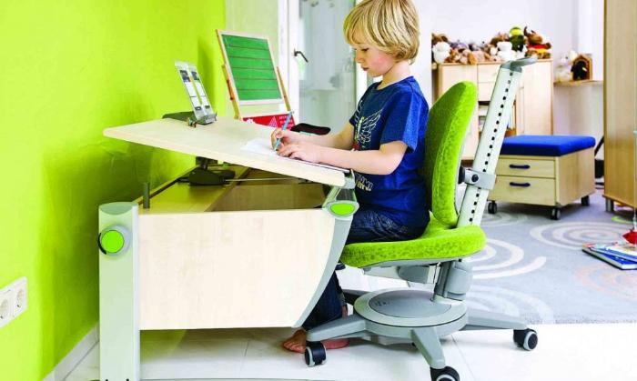 регулирующий стул для школьника