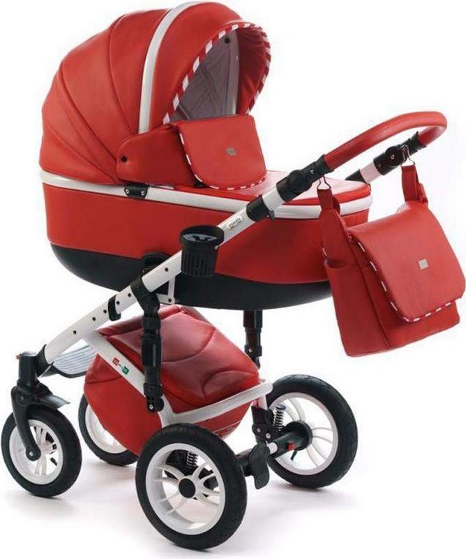 Красная коляска