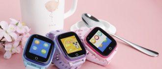 ТОП-8 лучших детских смарт-часов с функцией телефона