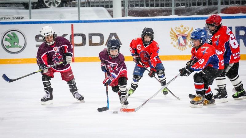 зимний спорт для детей